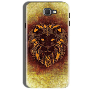 Samsung Galaxy J5 Prime Mobile Covers Cases Lion face art - Lowest Price - Paybydaddy.com