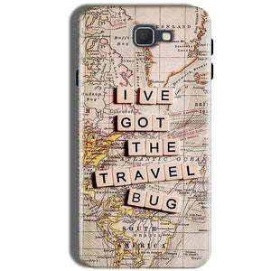 Samsung Galaxy J5 Prime Mobile Covers Cases Live Travel Bug - Lowest Price - Paybydaddy.com