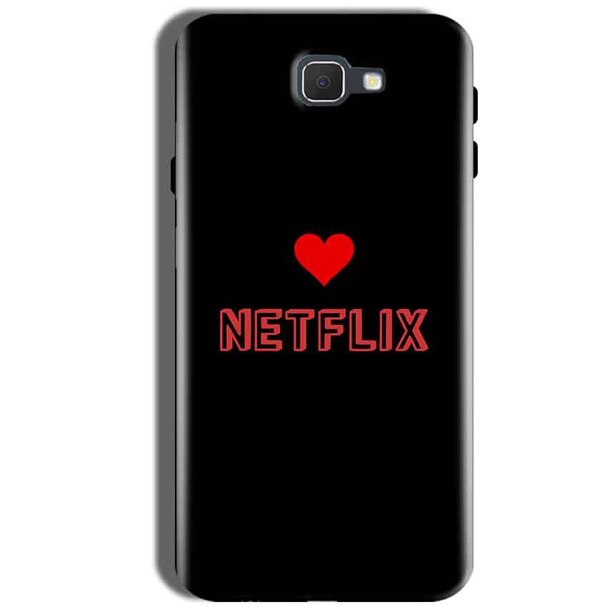 Samsung Galaxy J5 Prime Mobile Covers Cases NETFLIX WITH HEART - Lowest Price - Paybydaddy.com