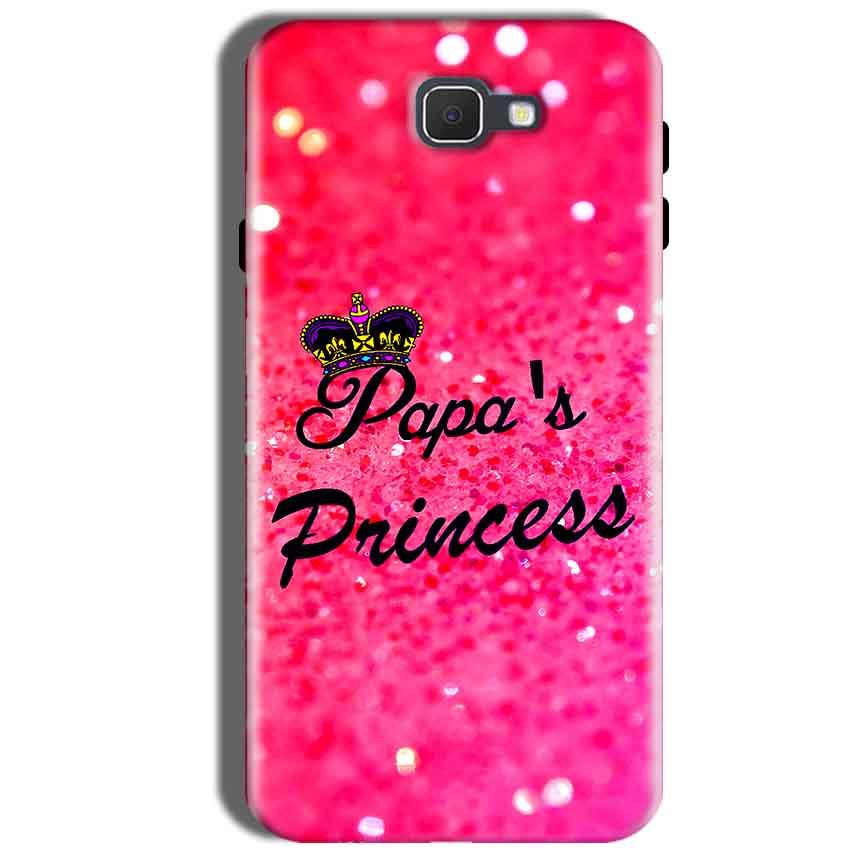 Samsung Galaxy J5 Prime Mobile Covers Cases PAPA PRINCESS - Lowest Price - Paybydaddy.com