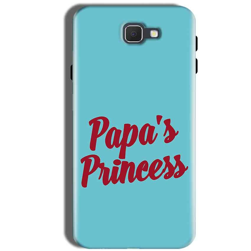 Samsung Galaxy J5 Prime Mobile Covers Cases Papas Princess - Lowest Price - Paybydaddy.com