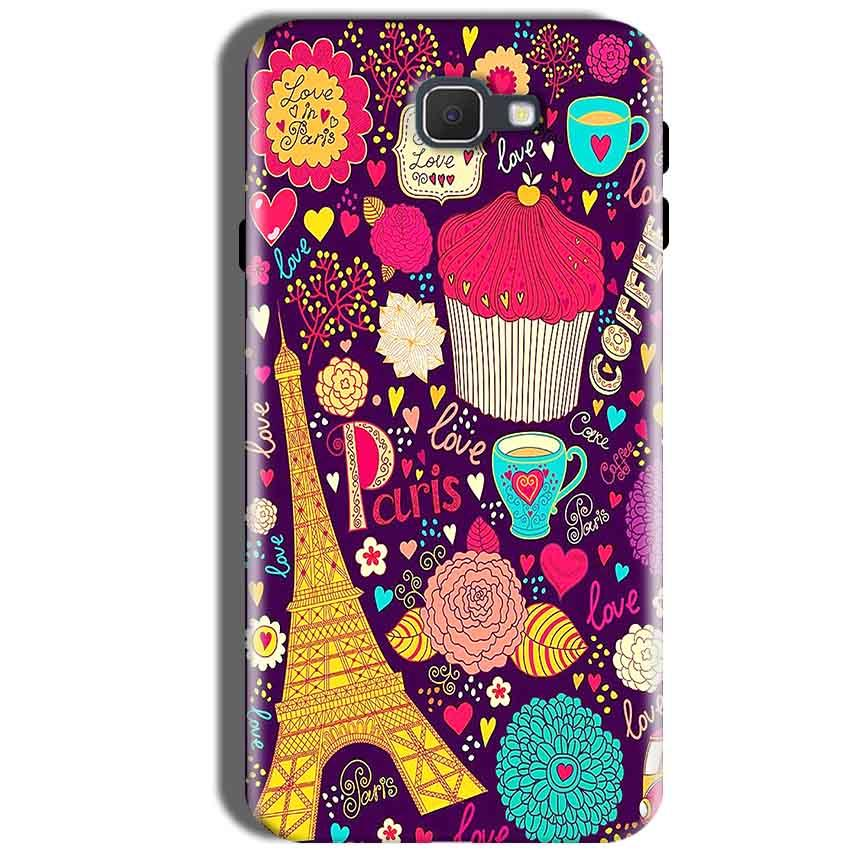 Samsung Galaxy J5 Prime Mobile Covers Cases Paris Sweet love - Lowest Price - Paybydaddy.com