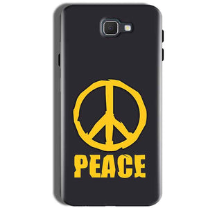 Samsung Galaxy J5 Prime Mobile Covers Cases Peace Blue Yellow - Lowest Price - Paybydaddy.com