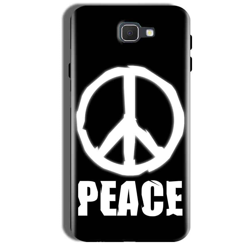 Samsung Galaxy J5 Prime Mobile Covers Cases Peace Sign In White - Lowest Price - Paybydaddy.com