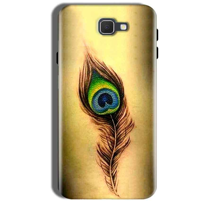 Samsung Galaxy J5 Prime Mobile Covers Cases Peacock coloured art - Lowest Price - Paybydaddy.com
