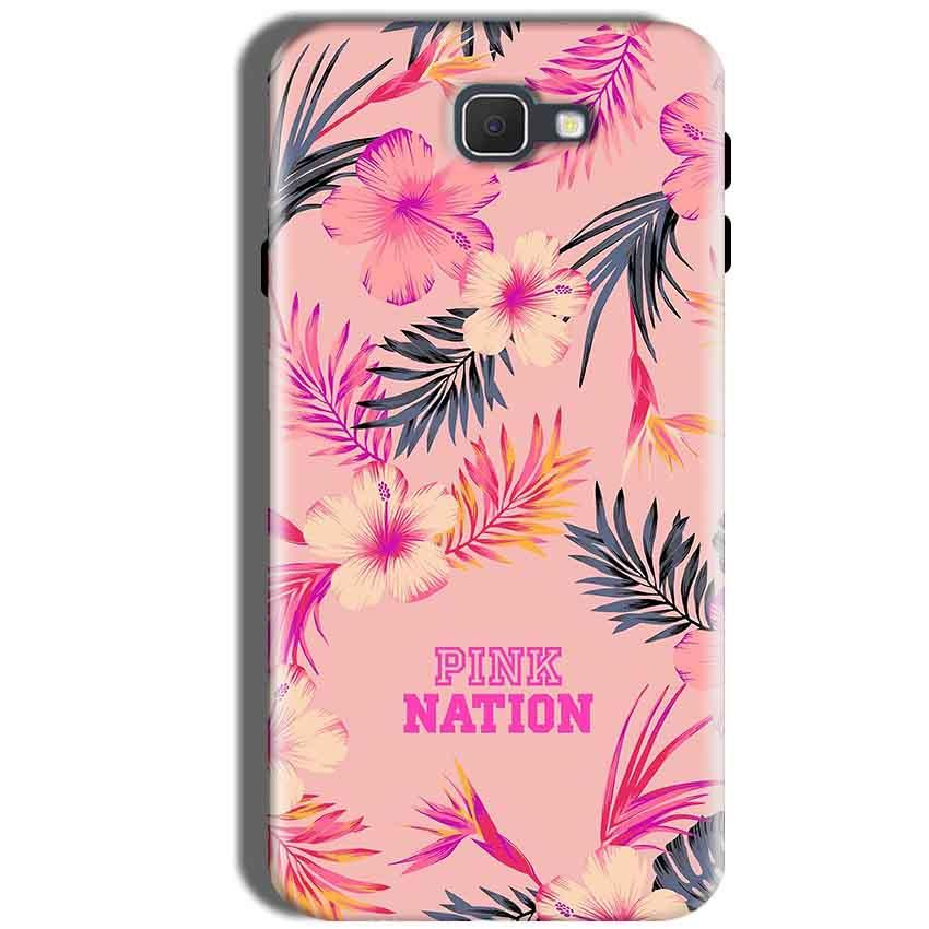 Samsung Galaxy J5 Prime Mobile Covers Cases Pink nation - Lowest Price - Paybydaddy.com