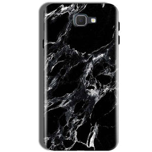Samsung Galaxy J5 Prime Mobile Covers Cases Pure Black Marble Texture - Lowest Price - Paybydaddy.com