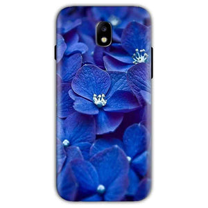 Samsung Galaxy J5 Pro Mobile Covers Cases Blue flower - Lowest Price - Paybydaddy.com