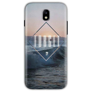 Samsung Galaxy J5 Pro Mobile Covers Cases Forget Quote Something Different - Lowest Price - Paybydaddy.com