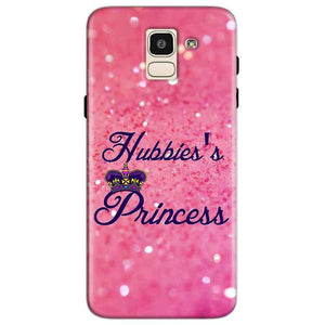 Samsung Galaxy J6 Mobile Covers Cases Hubbies Princess - Lowest Price - Paybydaddy.com