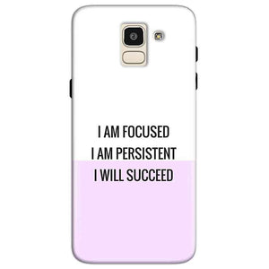 Samsung Galaxy J6 Mobile Covers Cases I am Focused - Lowest Price - Paybydaddy.com