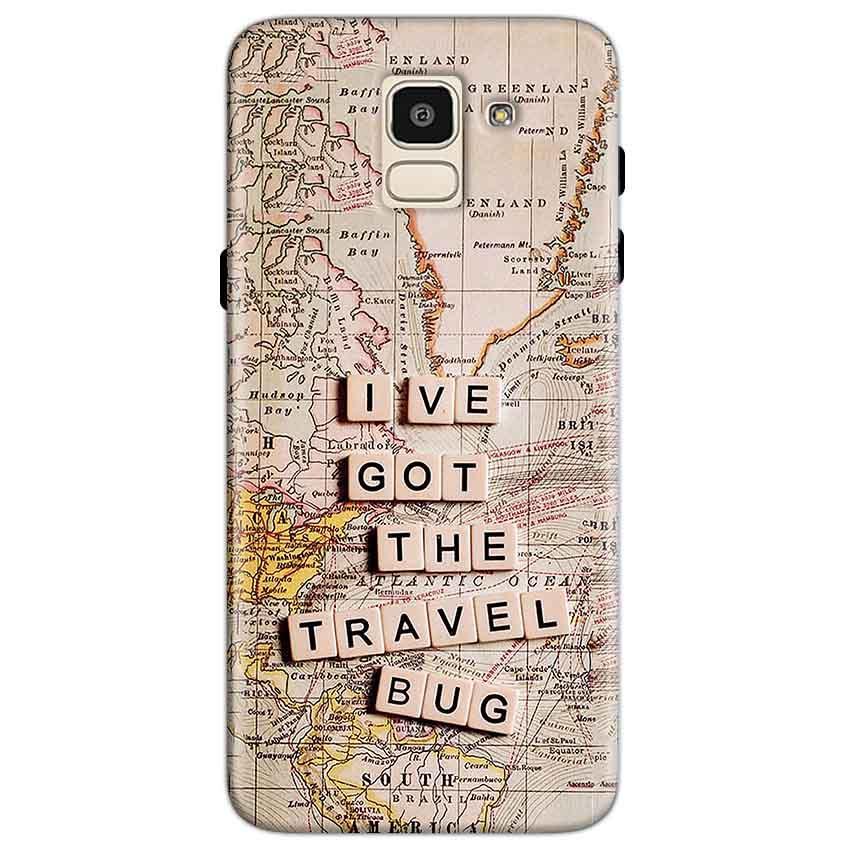 Samsung Galaxy J6 Mobile Covers Cases Live Travel Bug - Lowest Price - Paybydaddy.com