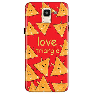 Samsung Galaxy J6 Mobile Covers Cases Love Triangle - Lowest Price - Paybydaddy.com