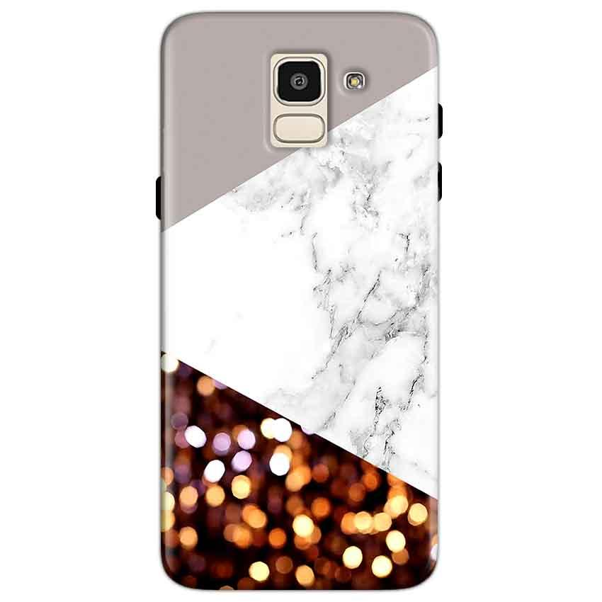 Samsung Galaxy J6 Mobile Covers Cases MARBEL GLITTER - Lowest Price - Paybydaddy.com
