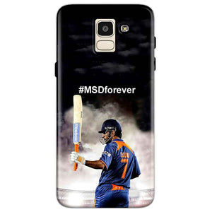 Samsung Galaxy J6 Mobile Covers Cases MS dhoni Forever - Lowest Price - Paybydaddy.com