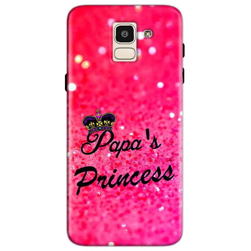 Samsung Galaxy J6 Mobile Covers Cases PAPA PRINCESS - Lowest Price - Paybydaddy.com