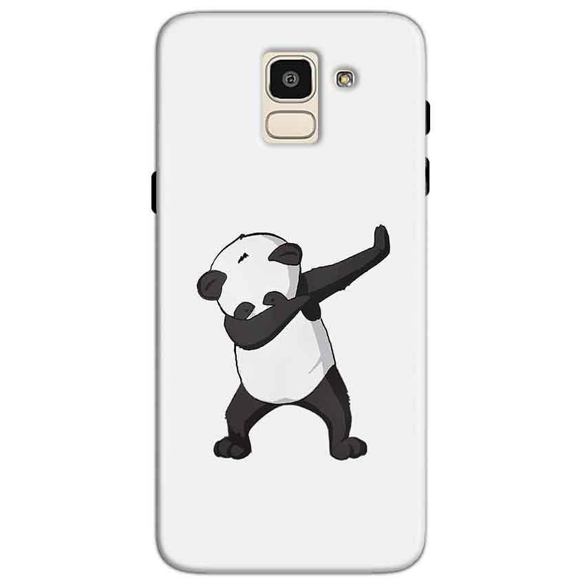 Samsung Galaxy J6 Mobile Covers Cases Panda Dab - Lowest Price - Paybydaddy.com
