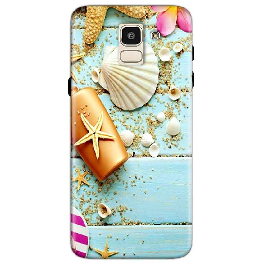 Samsung Galaxy J6 Mobile Covers Cases Pearl Star Fish - Lowest Price - Paybydaddy.com