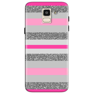 Samsung Galaxy J6 Mobile Covers Cases Pink colour pattern - Lowest Price - Paybydaddy.com