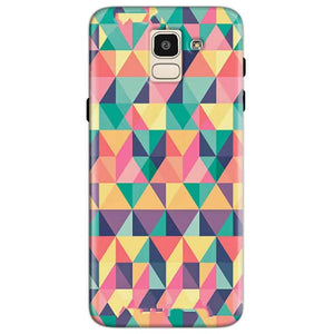Samsung Galaxy J6 Mobile Covers Cases Prisma coloured design - Lowest Price - Paybydaddy.com