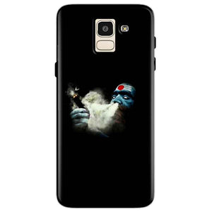 Samsung Galaxy J6 Mobile Covers Cases Shiva Aghori Smoking - Lowest Price - Paybydaddy.com