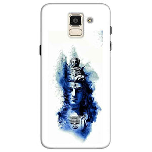 Samsung Galaxy J6 Mobile Covers Cases Shiva Blue White - Lowest Price - Paybydaddy.com