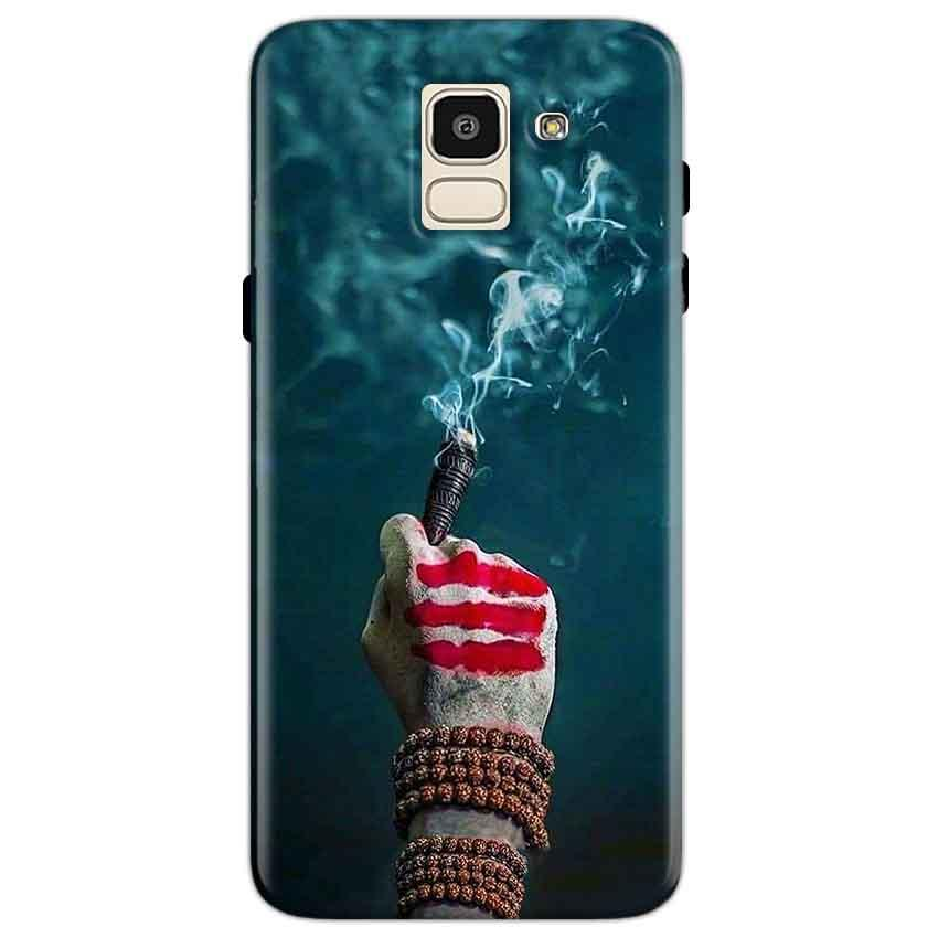 Samsung Galaxy J6 Mobile Covers Cases Shiva Hand With Clilam - Lowest Price - Paybydaddy.com