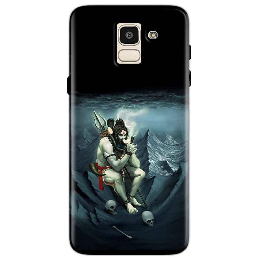 Samsung Galaxy J6 Mobile Covers Cases Shiva Smoking - Lowest Price - Paybydaddy.com