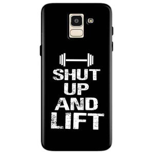 Samsung Galaxy J6 Mobile Covers Cases Shut Up And Lift - Lowest Price - Paybydaddy.com