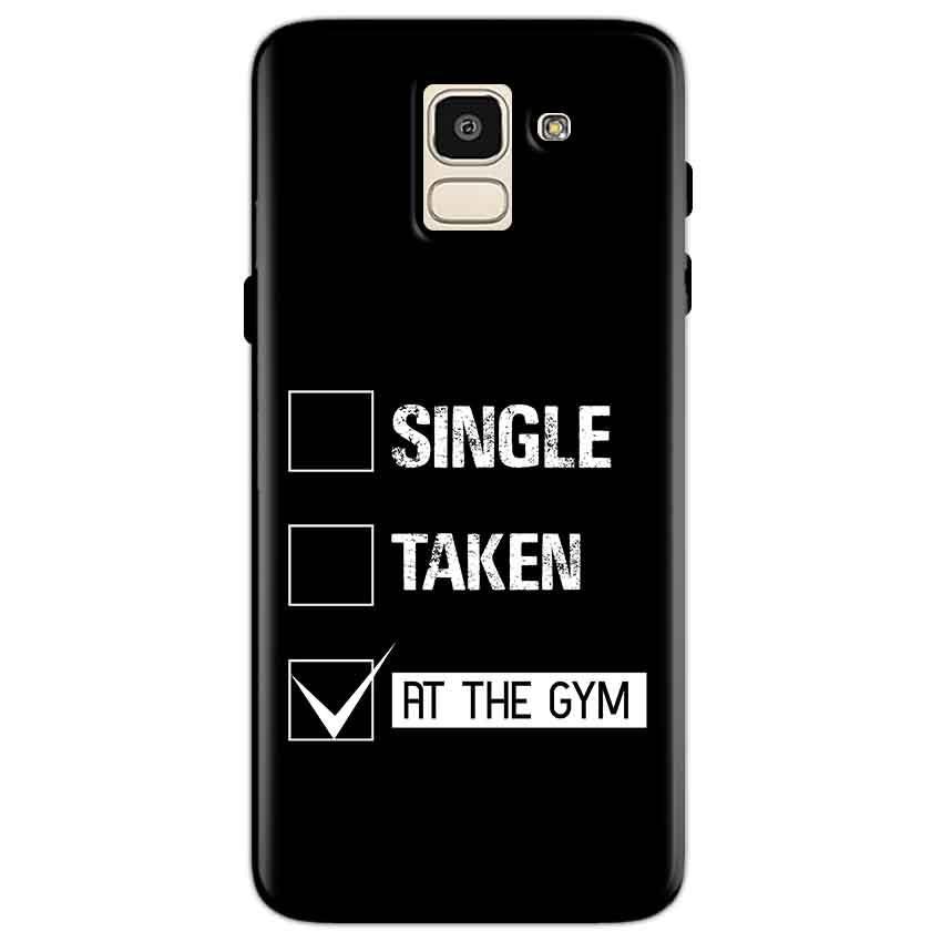 Samsung Galaxy J6 Mobile Covers Cases Single Taken At The Gym - Lowest Price - Paybydaddy.com