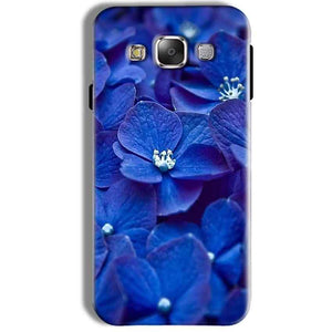Samsung Galaxy J7 2016 Mobile Covers Cases Blue flower - Lowest Price - Paybydaddy.com