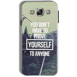 Samsung Galaxy J7 2016 Mobile Covers Cases Donot Prove yourself - Lowest Price - Paybydaddy.com