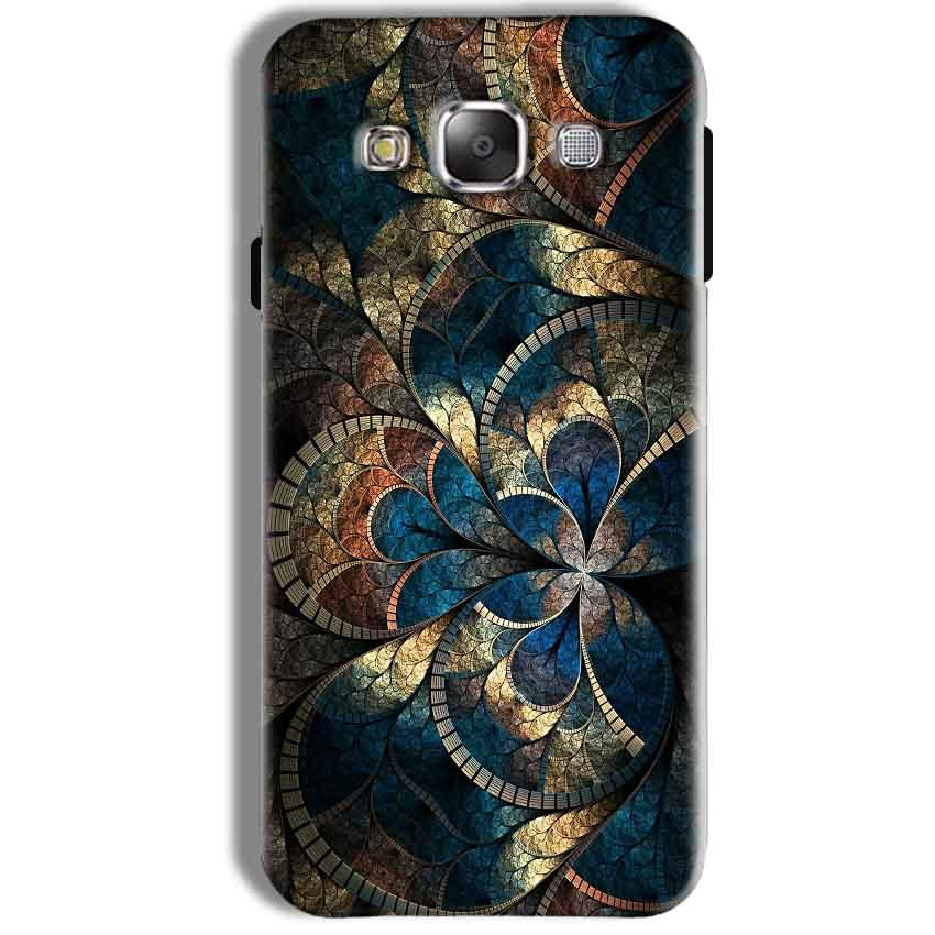 Samsung Galaxy J7 2016 Mobile Covers Cases Gold Colorful Texture Pattern - Lowest Price - Paybydaddy.com