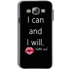 Samsung Galaxy J7 2016 Mobile Covers Cases i can and i will Lips - Lowest Price - Paybydaddy.com