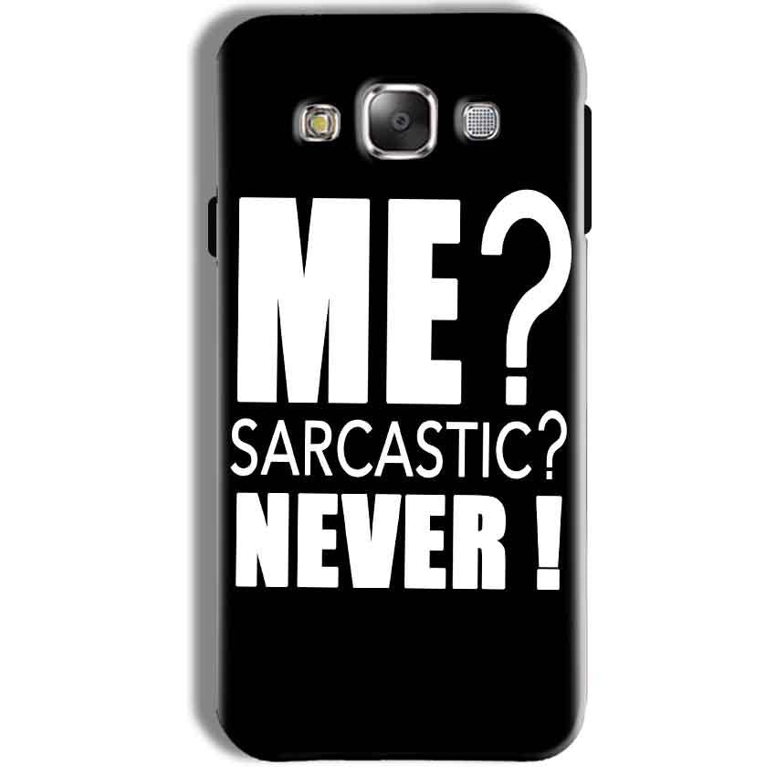 Samsung Galaxy J7 2016 Mobile Covers Cases Me sarcastic - Lowest Price - Paybydaddy.com