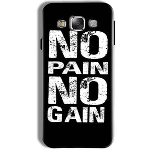 Samsung Galaxy J7 2016 Mobile Covers Cases No Pain No Gain Black And White - Lowest Price - Paybydaddy.com