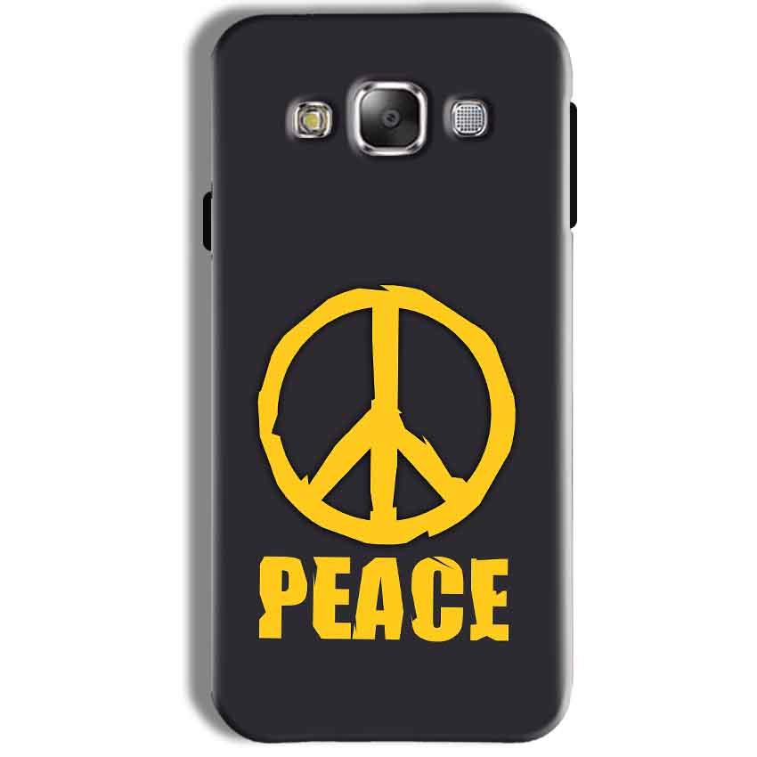 Samsung Galaxy J7 2016 Mobile Covers Cases Peace Blue Yellow - Lowest Price - Paybydaddy.com