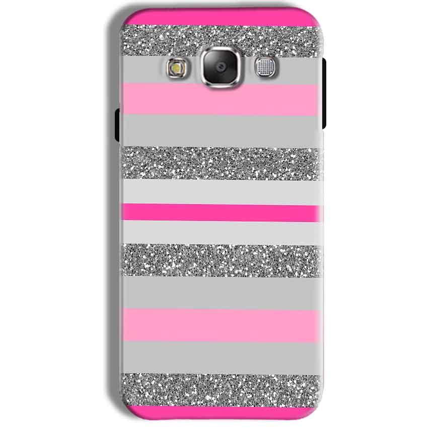 Samsung Galaxy J7 2016 Mobile Covers Cases Pink colour pattern - Lowest Price - Paybydaddy.com