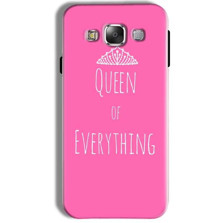 Samsung Galaxy J7 2016 Mobile Covers Cases Queen Of Everything Pink White - Lowest Price - Paybydaddy.com