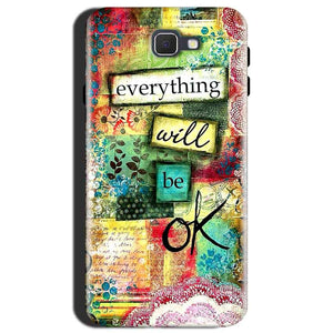 Samsung Galaxy J7 Max Mobile Covers Cases Everything Will BE OK - Lowest Price - Paybydaddy.com