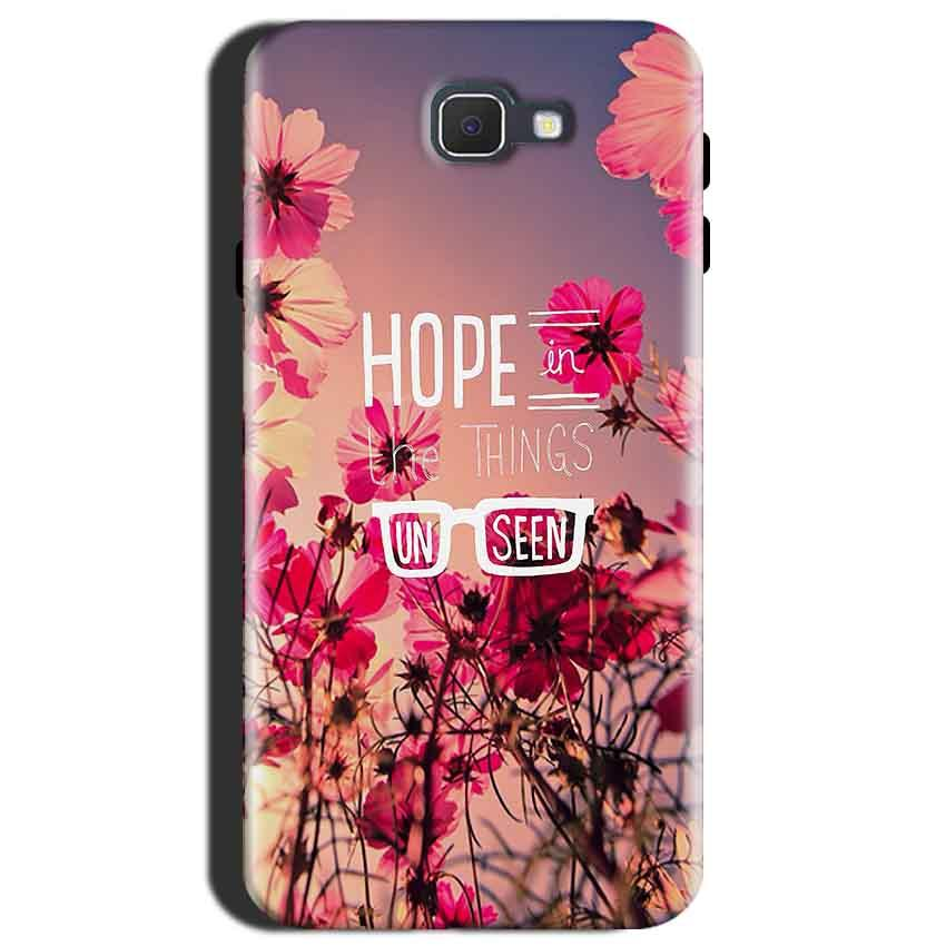 Samsung Galaxy J7 Max Mobile Covers Cases Hope in the Things Unseen- Lowest Price - Paybydaddy.com
