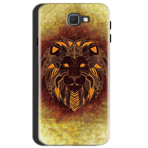 Samsung Galaxy J7 Max Mobile Covers Cases Lion face art - Lowest Price - Paybydaddy.com