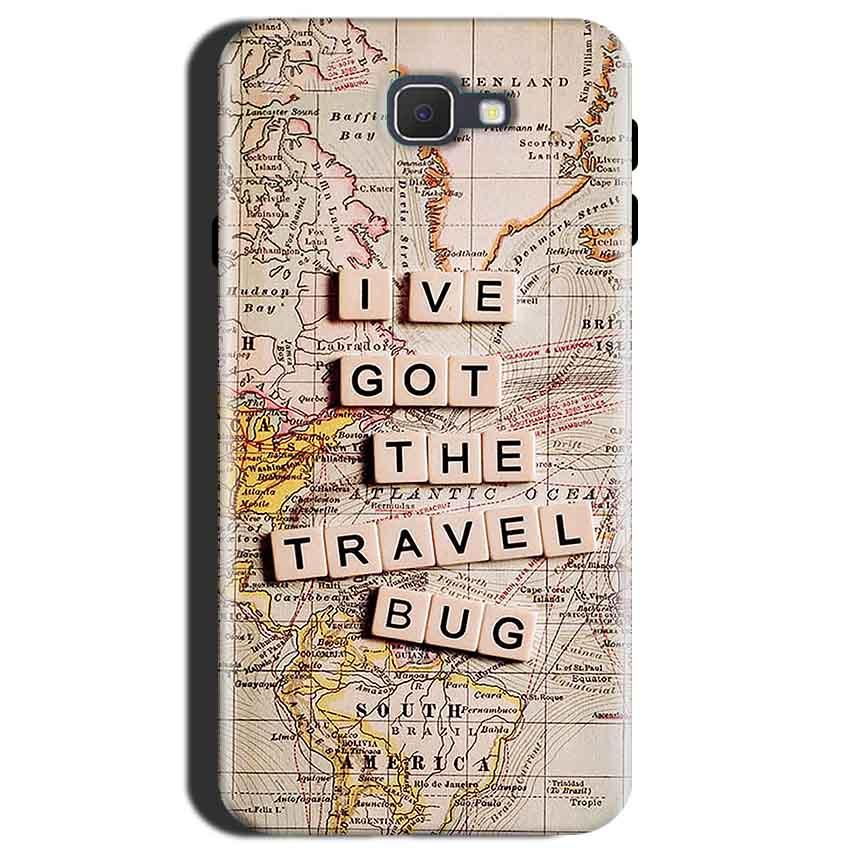 Samsung Galaxy J7 Max Mobile Covers Cases Live Travel Bug - Lowest Price - Paybydaddy.com