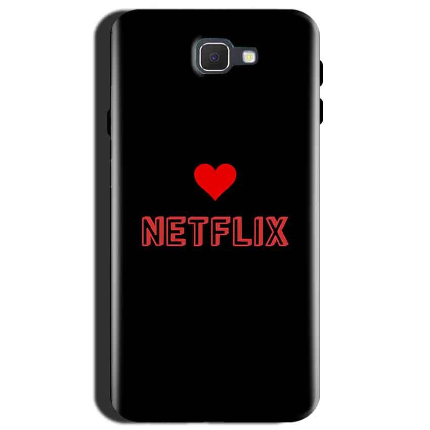 Samsung Galaxy J7 Max Mobile Covers Cases NETFLIX WITH HEART - Lowest Price - Paybydaddy.com