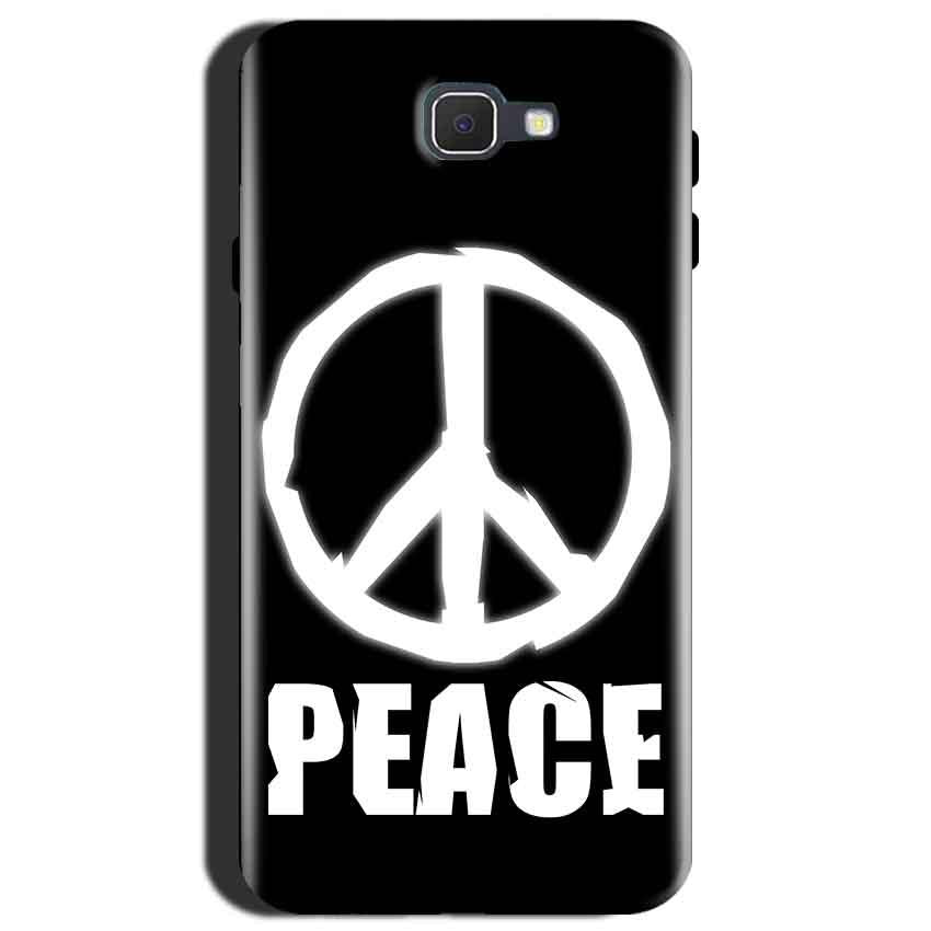 2eabcaa36 Samsung Galaxy J7 Max Mobile Covers Cases Peace Sign In White - Lowest  Price - Paybydaddy