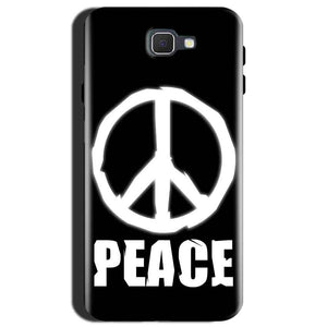 Samsung Galaxy J7 Max Mobile Covers Cases Peace Sign In White - Lowest Price - Paybydaddy.com