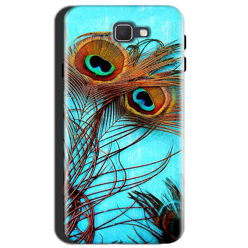 Samsung Galaxy J7 Max Mobile Covers Cases Peacock blue wings - Lowest Price - Paybydaddy.com