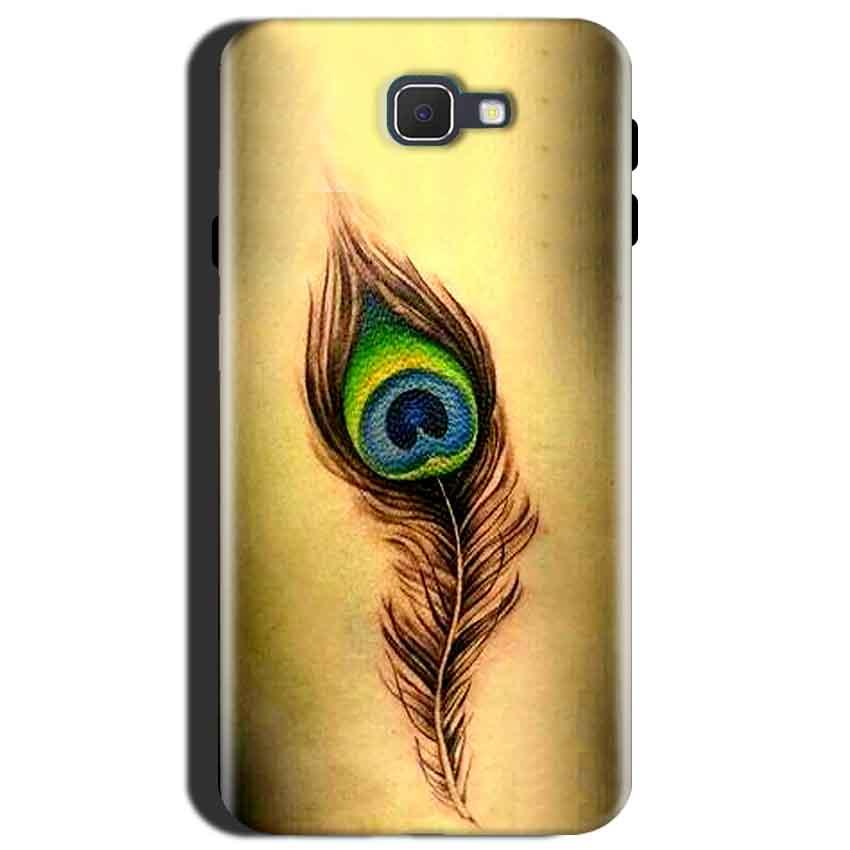 reputable site 4ec62 b009f Samsung Galaxy J7 Max Peacock coloured art Back Cover