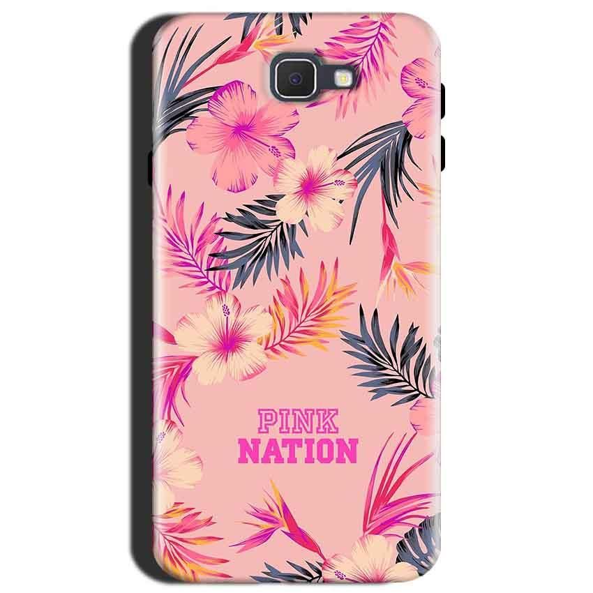 Samsung Galaxy J7 Max Mobile Covers Cases Pink nation - Lowest Price - Paybydaddy.com