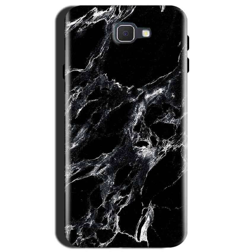 Samsung Galaxy J7 Max Mobile Covers Cases Pure Black Marble Texture - Lowest Price - Paybydaddy.com